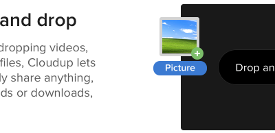 Cloudup: Drag and Drop to Quickly Share Files from your Desktop