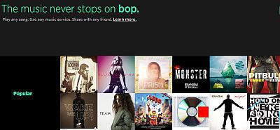 Bop.fm: Cross-Platform Music Sharing met playlists